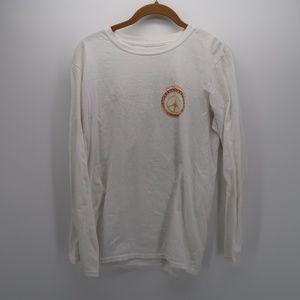 Margaritaville Long Sleeve Cotton Tee T Shirt Top
